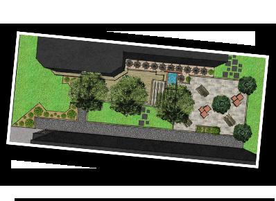 Simulation des plans d'un jardin sur notre logiciel